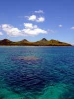 石垣島の海へ