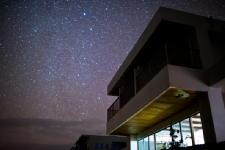 宿から満天の星空