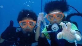 子供体験ダイビング