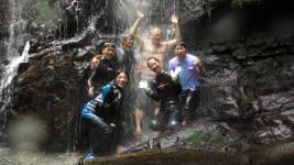 吹通川の滝