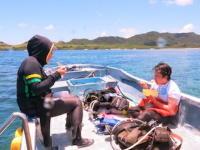 ダイビング船アルカディア1号2